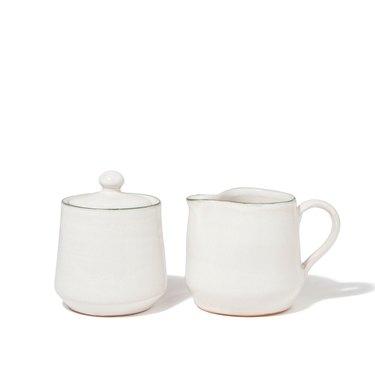 coffee creamer and sugar bowl set