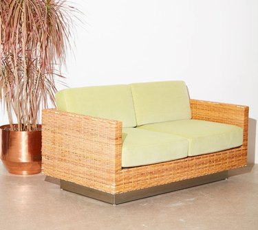 1970s love seat sold by Coming Soon