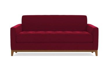 apt2b velvet sofa