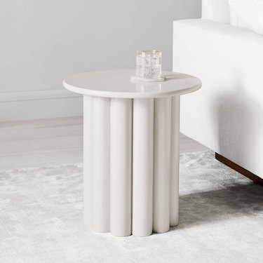 West Elm Hera Side Table - Semi Circle, $140