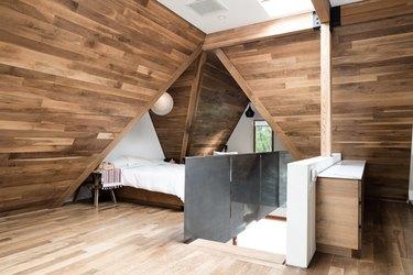 Bedroom, minimalist