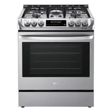 LG oven range