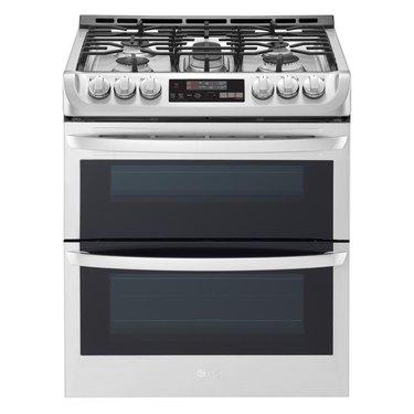 double oven range