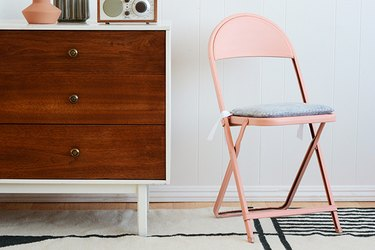 DIY Seat Cushion for Folding Chair