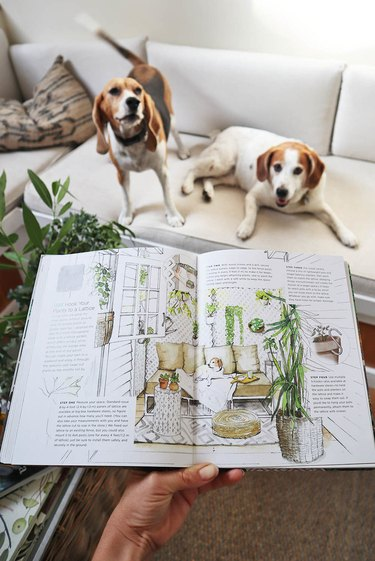 """""""Small Space Style"""" by Whitney Leigh Morris of The Tiny Canal Cottage book interior"""