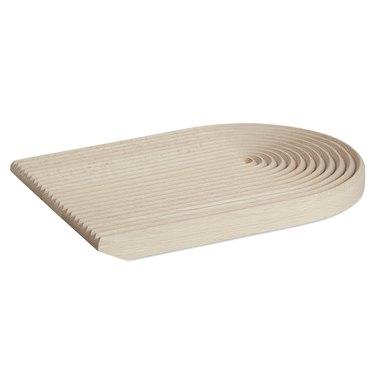 Danish designed bread cutting board made from beechwood
