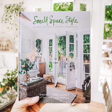 """""""Small Space Style"""" by Whitney Leigh Morris of The Tiny Canal Cottage book cover"""