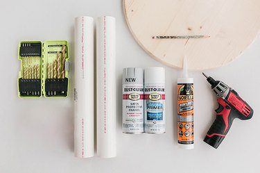 Here's what you'll need to build your ribbed side table.