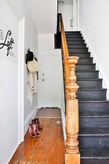 original flooring and staircase