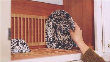 Create a hidden drying rack, Scandinavia style
