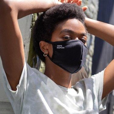 everlane 100% human face mask