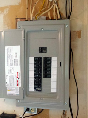 Indexed electrical panel.