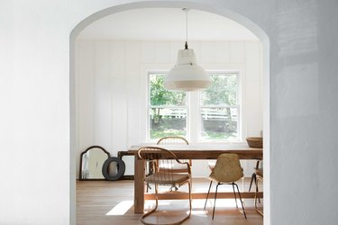 mix and match dining chairs in dining room