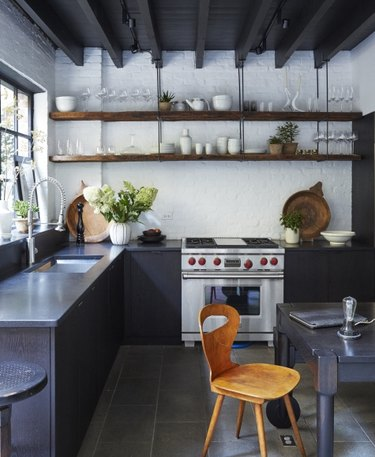 commercial-style kitchens