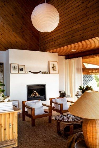 Kara Rosenlund living room