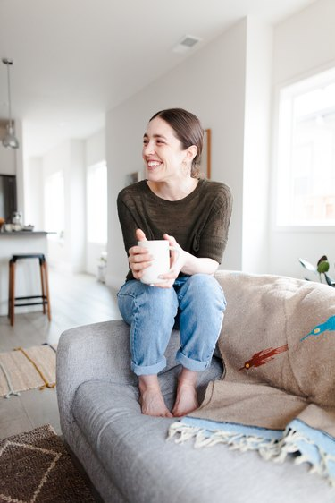 Leah Lavelle in her Portland home