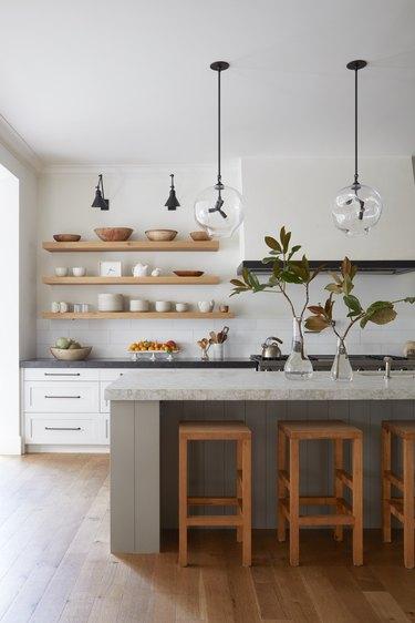 Midcentury kitchen pendant lighting
