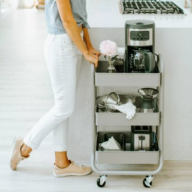 rolling cart for the kitchen