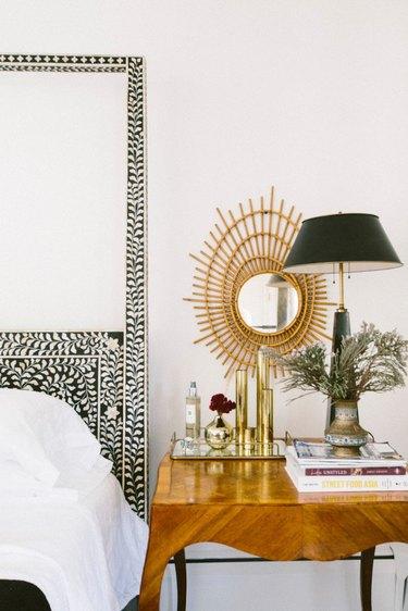 michigan bohemian bedroom