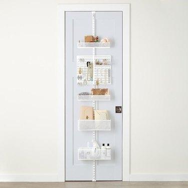 hanging door pantry storage
