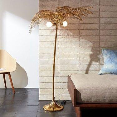 CB2 Ocean Palm Floor Lamp