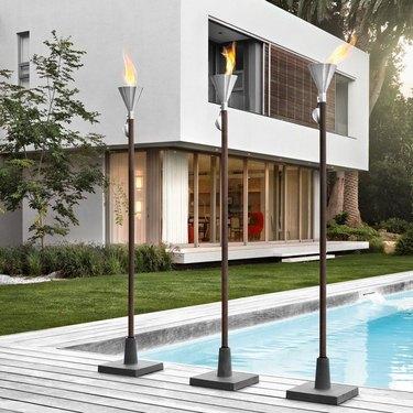 gel garden torch
