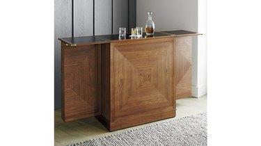Crate & Barrel Maxine Bar Cabinet