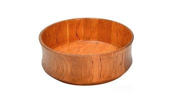 Wood salad bowl