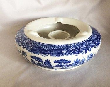 Antique porcelain tea warmer, c. 1950.