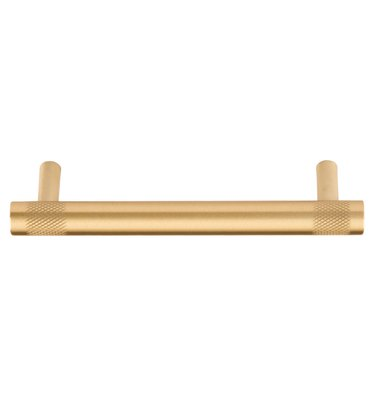 Brass bar-shaped drawer pull