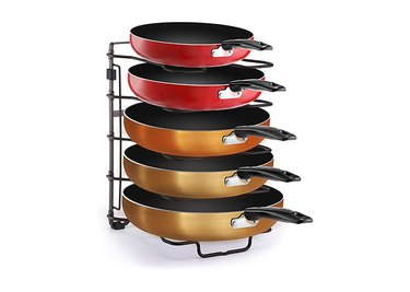 Simple Trending Adjustable Pan and Pot Lid Organizer