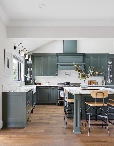 Angular wall sconce modern kitchen lighting