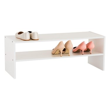 Container Store 2-Shelf Shoe Rack