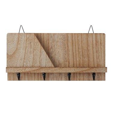 Mainstays Hanging Rustic Wood Shelf, $13.23