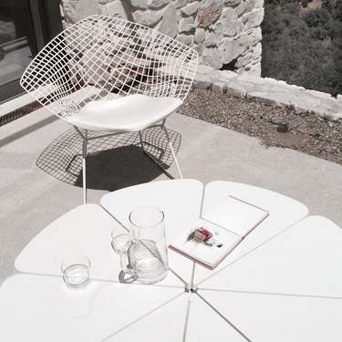 harry bertoia's diamond chair
