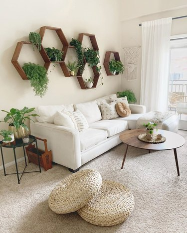 boho living room tips