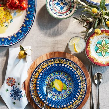 Williams Sonoma melamine plates