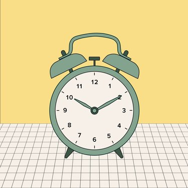 alarm clock illo