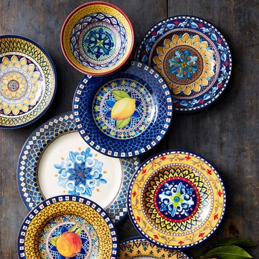 Sicily Outdoor Melamine Dinnerware Collection