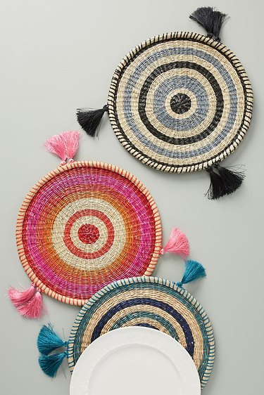 anthropologie woven placemats