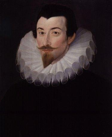 Portrait of John Harington by Hieronimo Custodis, c. 1590–93