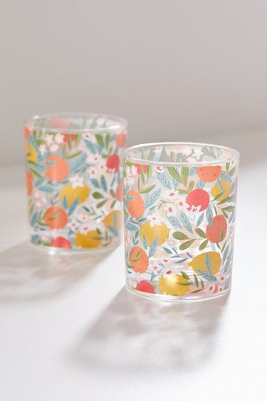 urban outfitters fruit glass