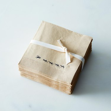 with love+ink ant napkins