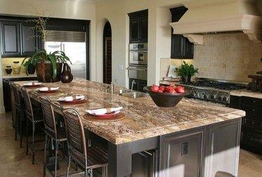 Granite countertop.