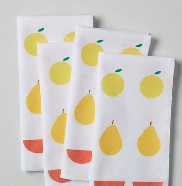 west elm arrangement napkins