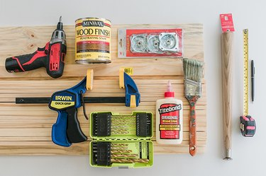 Here's what you'll need to build your coffee table.