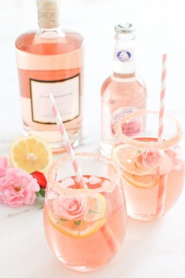 Rosé Lemonade by Monika Hibbs