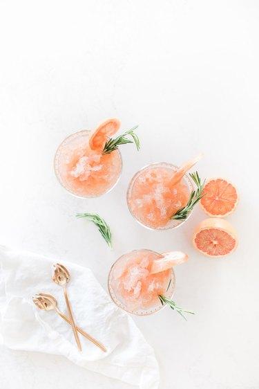 Grapefruit Rosemary Frosé by Jillian Harris