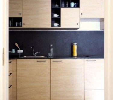 minimalist kitchen in israel
