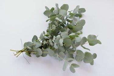 DIY eucalyptus runner